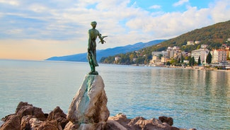 Holiday in Opatija city in Croatia
