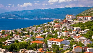Holiday in Novi Vinodolski city in Croatia