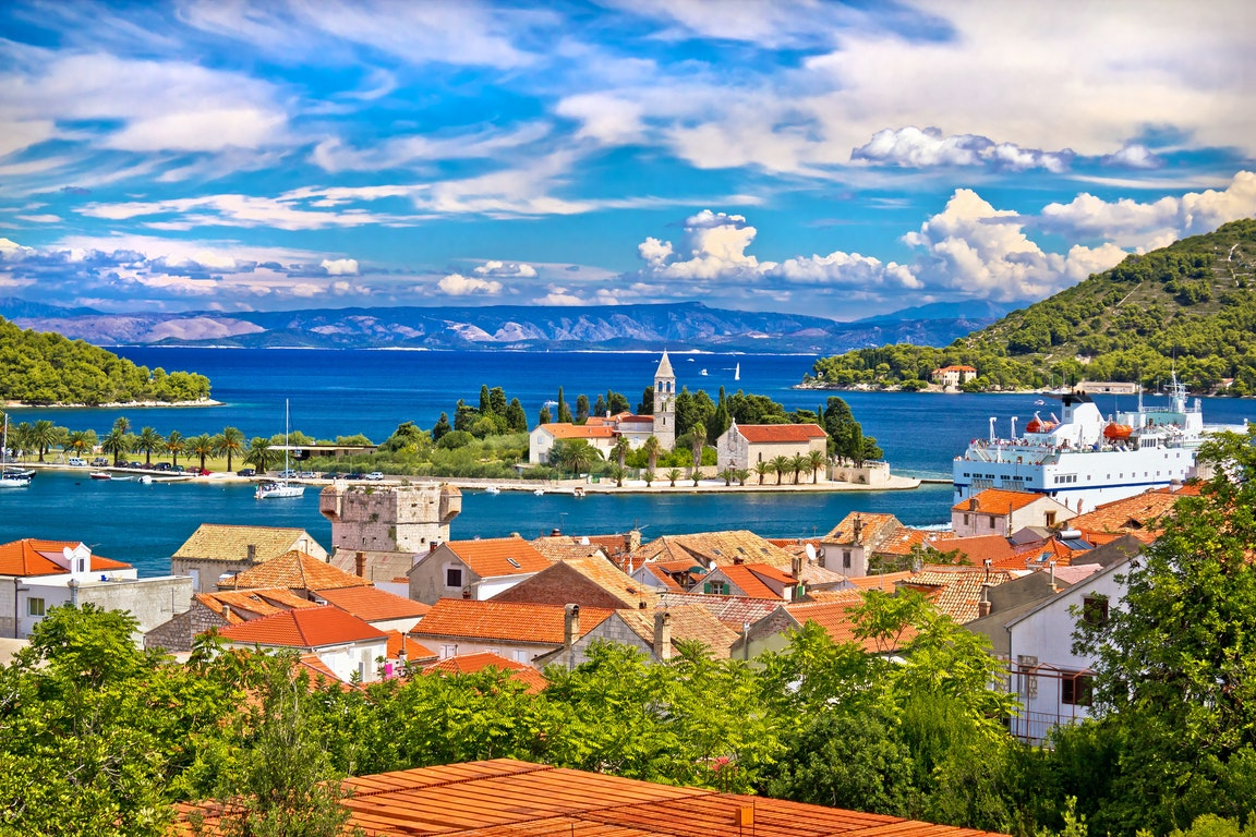 Vis city Croatia Holiday