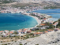 Holiday in Novalja city in Croatia