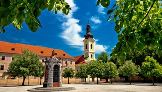 Holiday in Karlovac city in Croatia