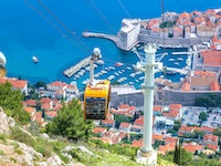 Holiday in Dubrovnik Cable Car poi in Croatia
