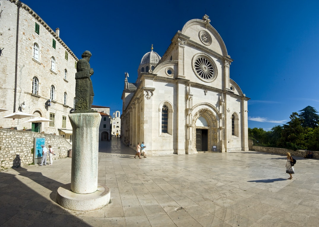 Sibenik city Croatia Holiday