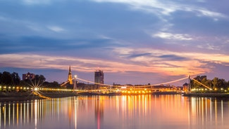 Holiday in Osijek city in Croatia