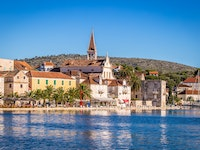 Holiday in Brac city in Croatia
