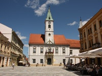 Holiday in Varazdin city in Croatia