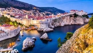 Holiday in Dubrovnik city in Croatia