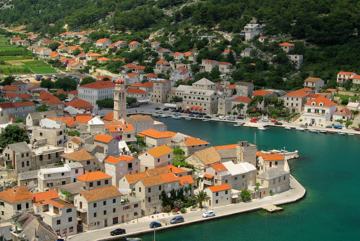 Brac city Croatia Holiday
