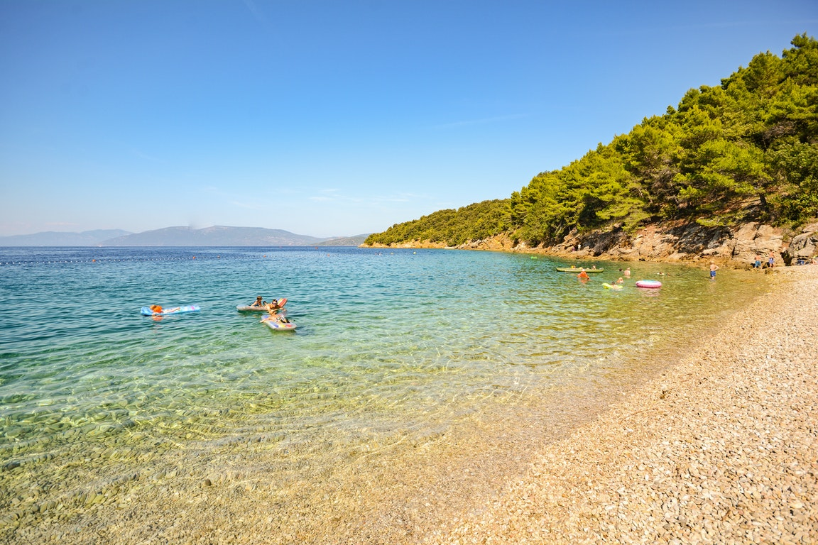 Lubenice Beach  Croatia Holiday