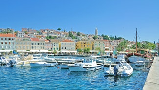 Holiday in Mali Losinj city in Croatia