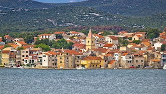 Holiday in Pirovac city in Croatia