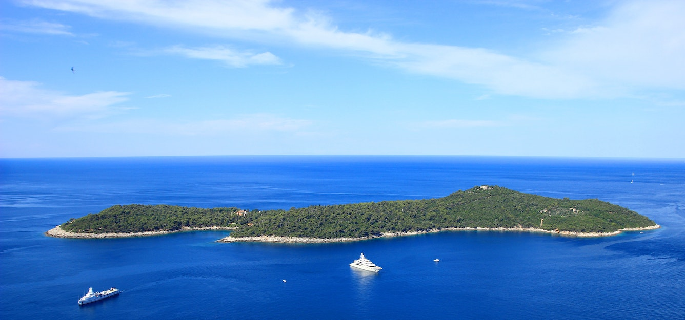 Lokrum island Croatia Holiday