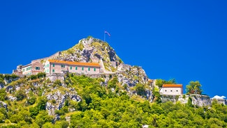 Holiday in Knin city in Croatia