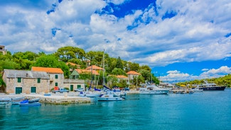 Holiday in Solta island in Croatia