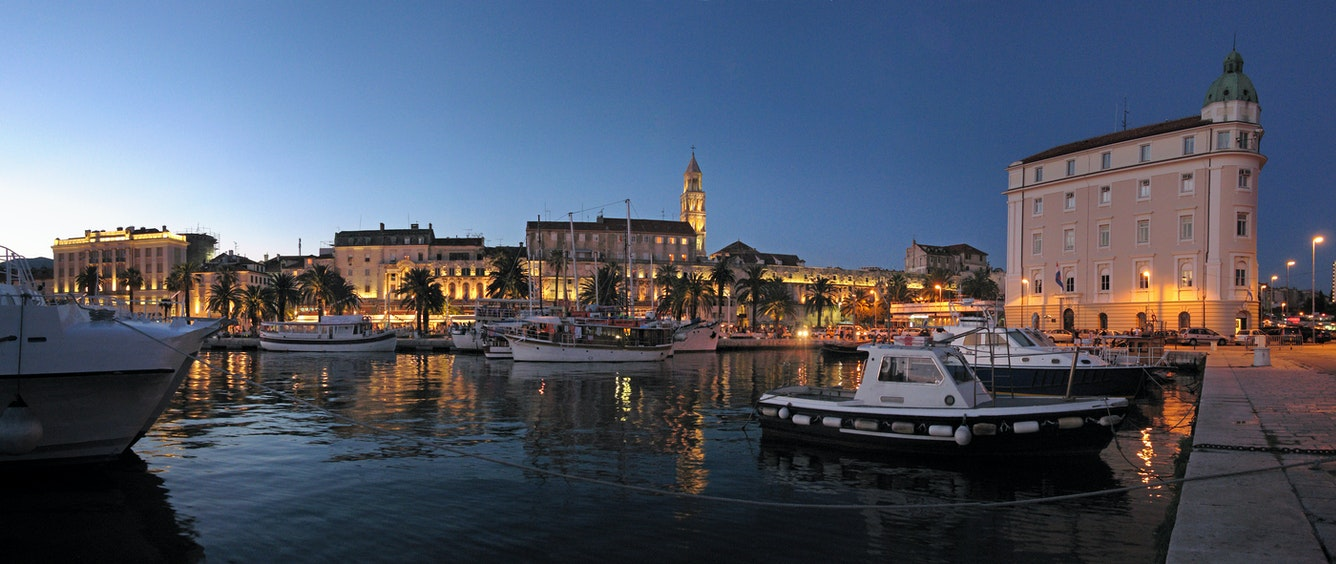 Split city Croatia Holiday