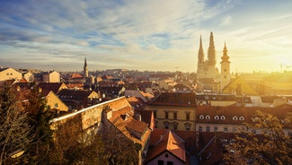 Holiday in Zagreb city in Croatia