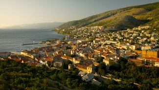 Holiday in Senj city in Croatia