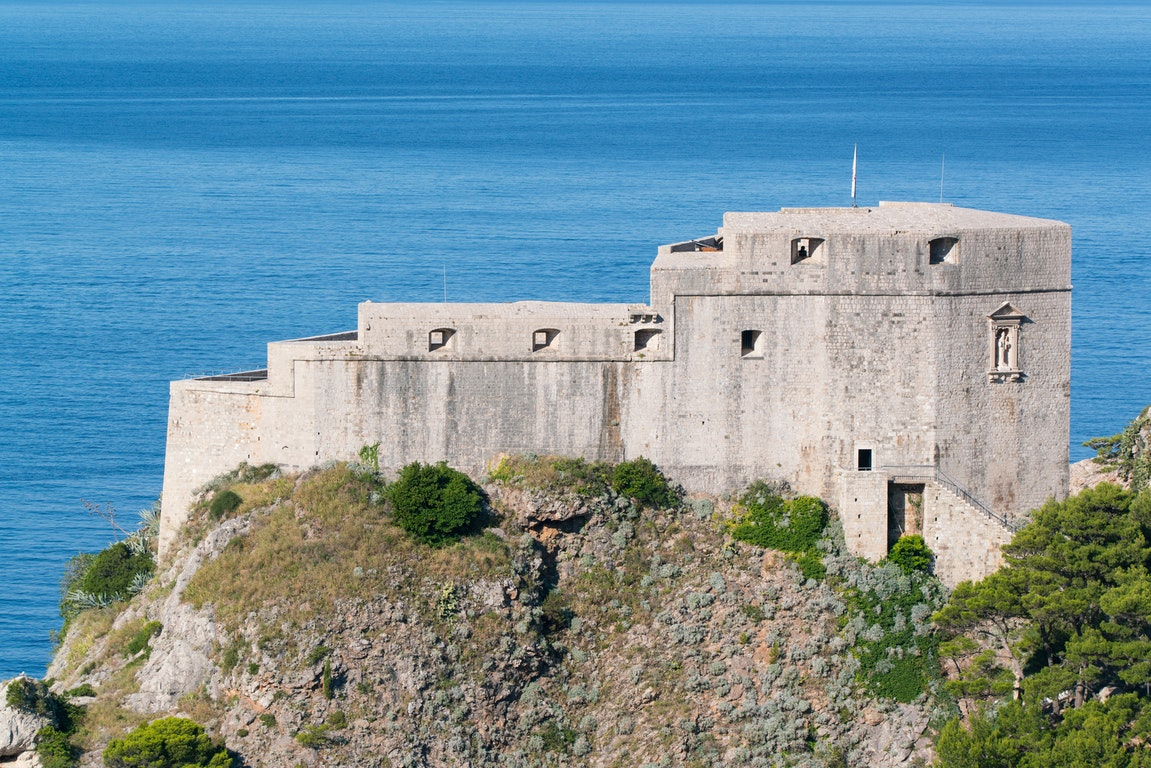 Fort Lovrijenac poi Croatia Holiday