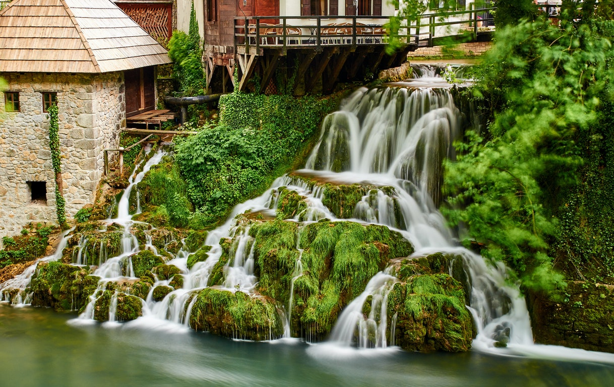 Slunj city Croatia Holiday