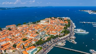 Holiday in Zadar city in Croatia