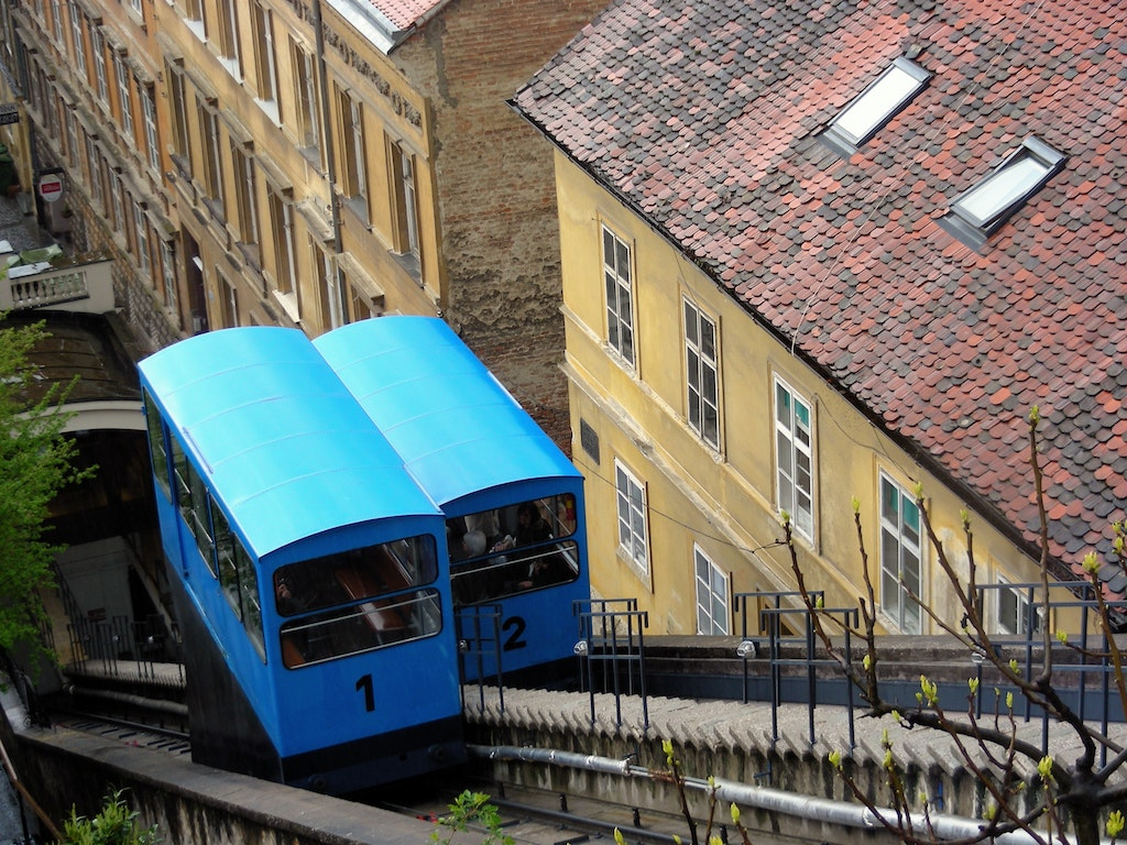 Funicular Railway Zagreb poi Croatia Holiday