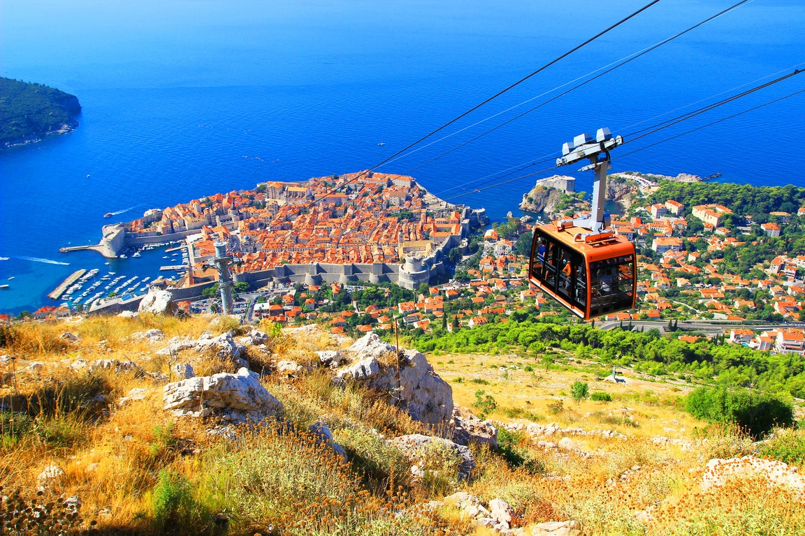 Dubrovnik Cable Car  Croatia Holiday