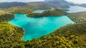 Holiday in Mljet island in Croatia