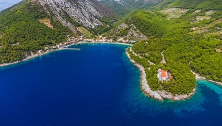 Holiday in Peljesac city in Croatia