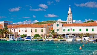 Holiday in Biograd na Moru city in Croatia