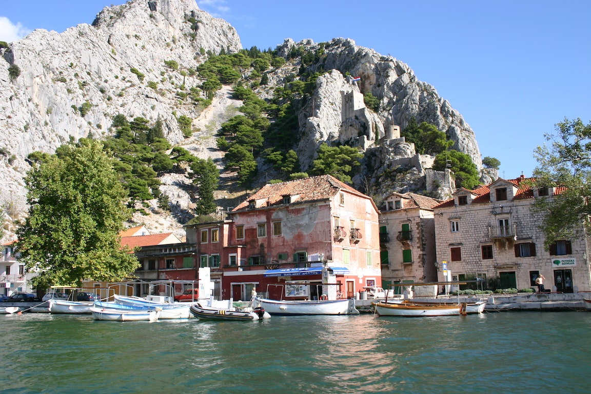 Omis city Croatia Holiday