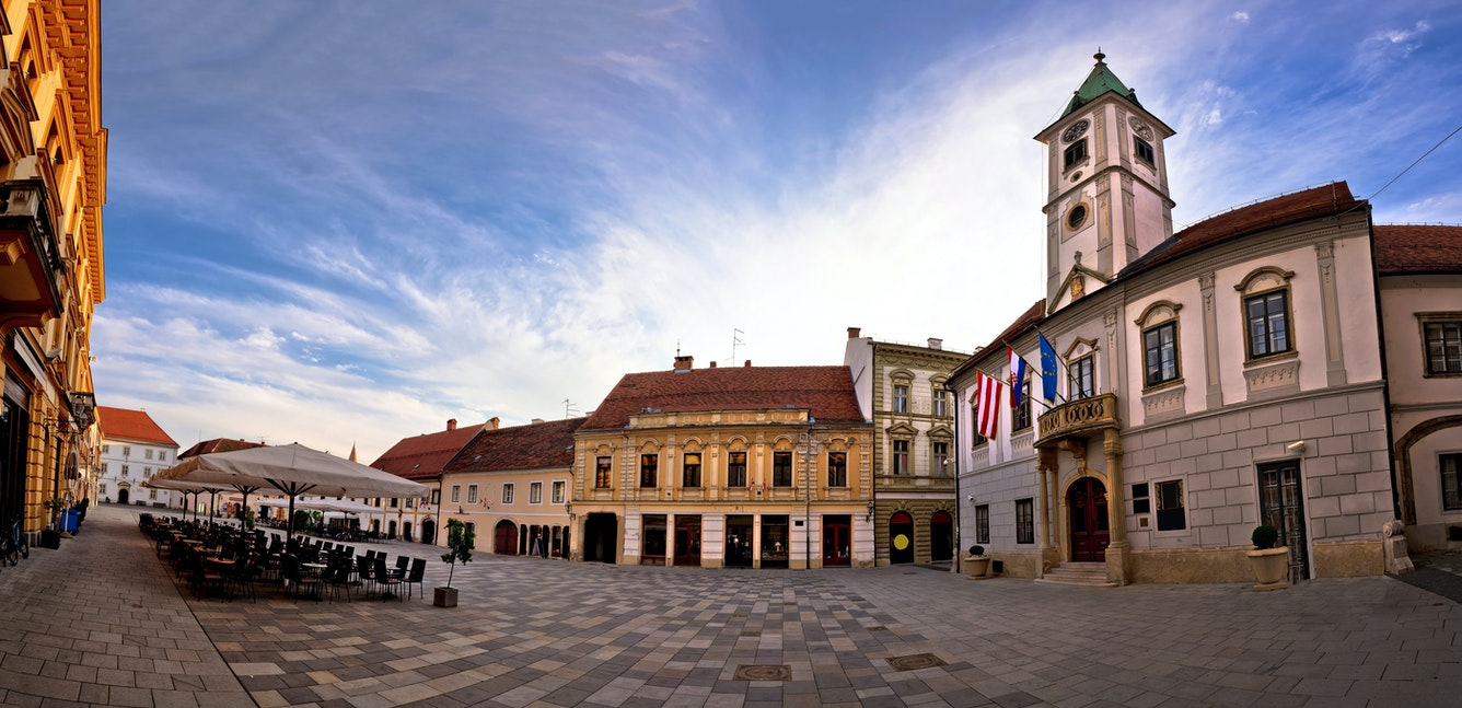 Varazdin city Croatia Holiday